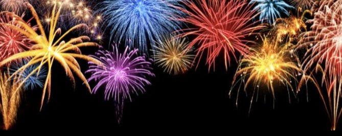 Fireworks, Independence Day and Oxygen